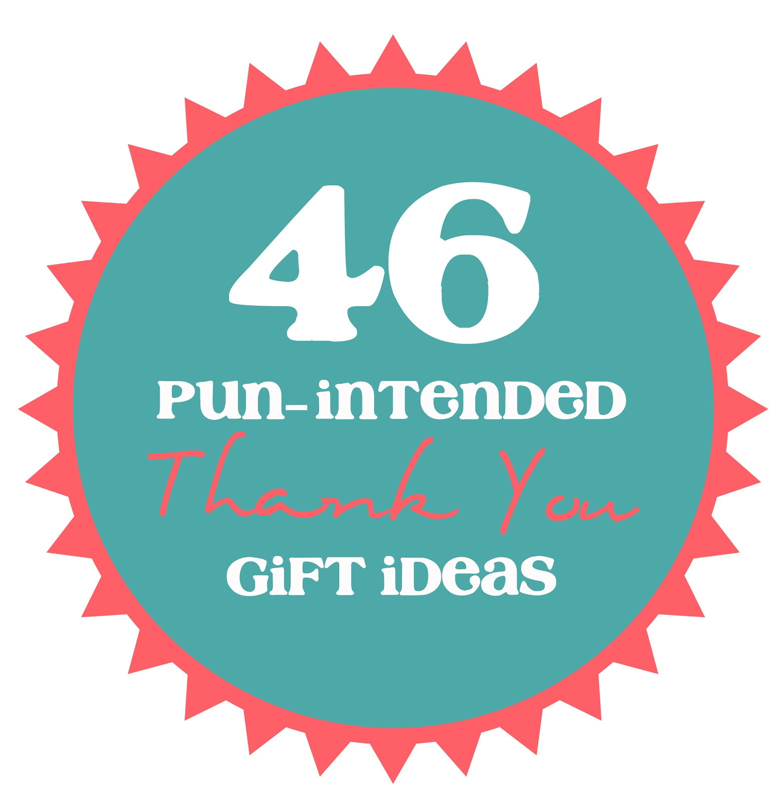 Best ideas about Thank U Gift Ideas . Save or Pin 46 Pun Intended Thank You Gift Ideas thecraftpatchblog Now.