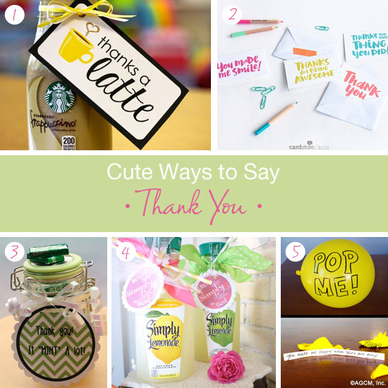Best ideas about Thank U Gift Ideas . Save or Pin Cute thank you t ideas American Greetings Blog Now.