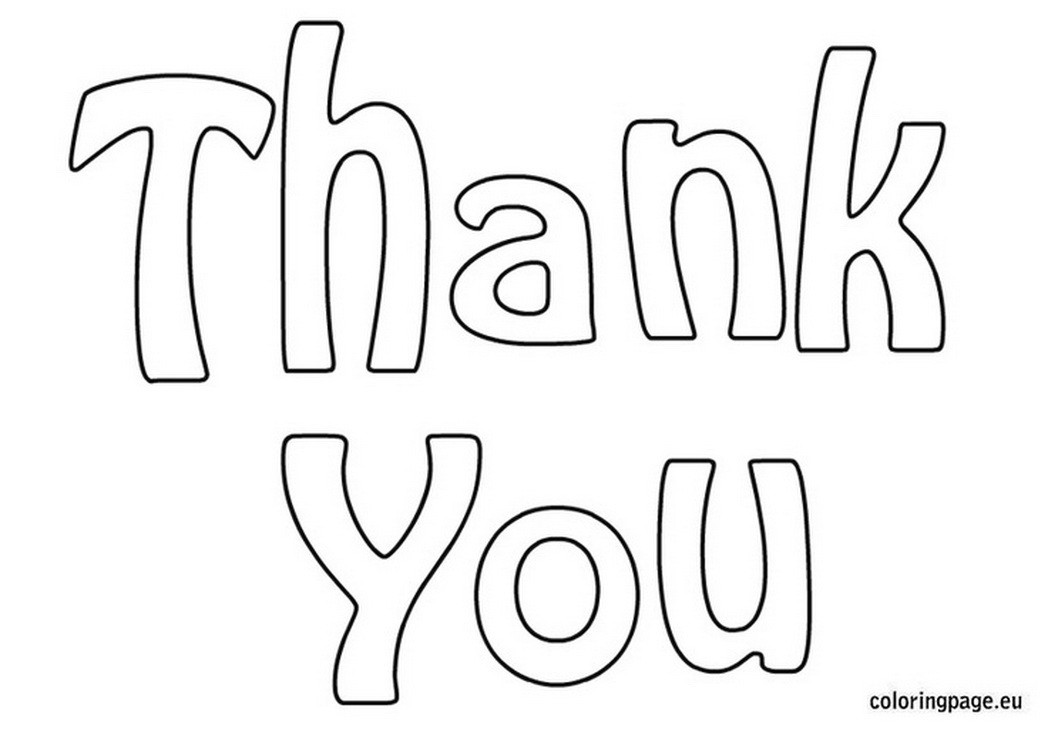 Thank You Coloring Sheets For Girls  Thank You Cards Coloring Pages Bestofcoloring