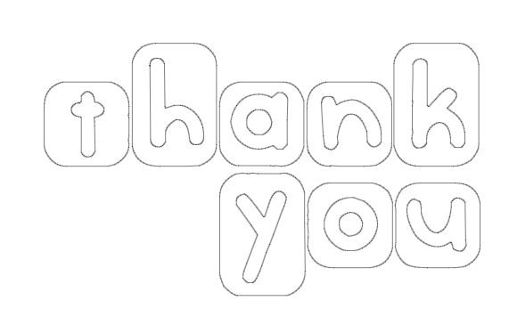 Thank You Coloring Sheets For Girls  Free Coloring Pages Kids Coloring Thank You Cards Free