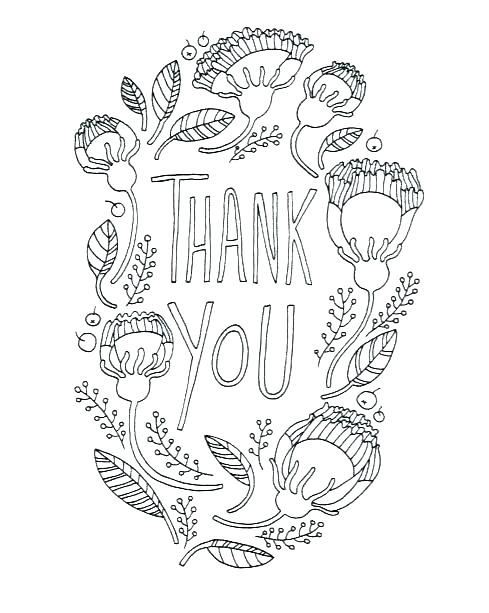Thank You Coloring Sheets For Girls  Thank You Coloring Pages Plus Luxury Printable