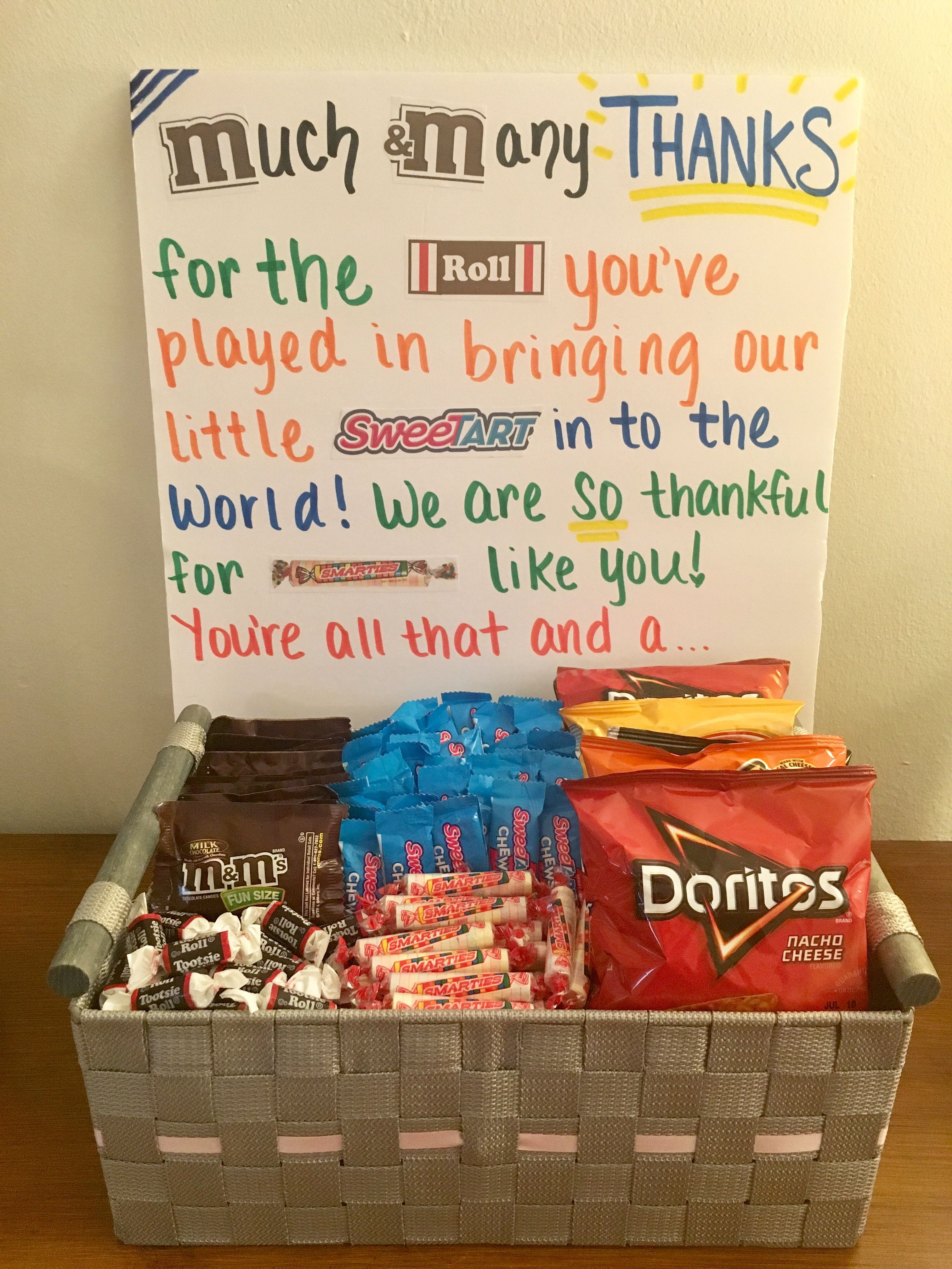 Thank You Delivery Gift Ideas  Thank you t for labor and delivery nurses