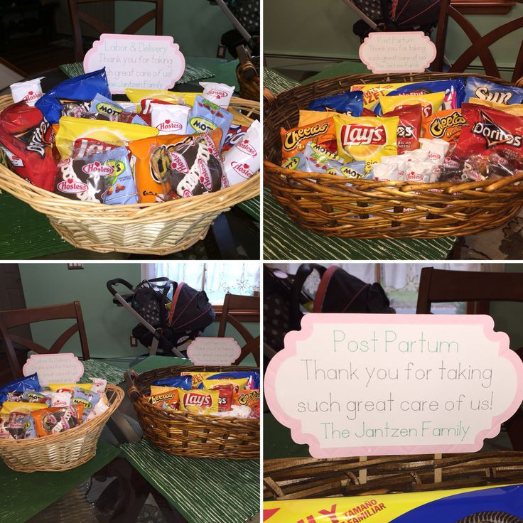 Thank You Delivery Gift Ideas  Labor And Delivery Nurse Gift Basket – Gift Ftempo