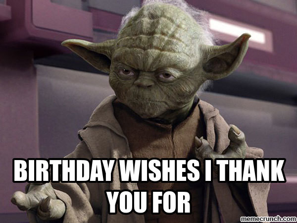 Best ideas about Thank You For The Birthday Wishes Meme . Save or Pin The gallery for Thank You For The Birthday Wishes Meme Now.