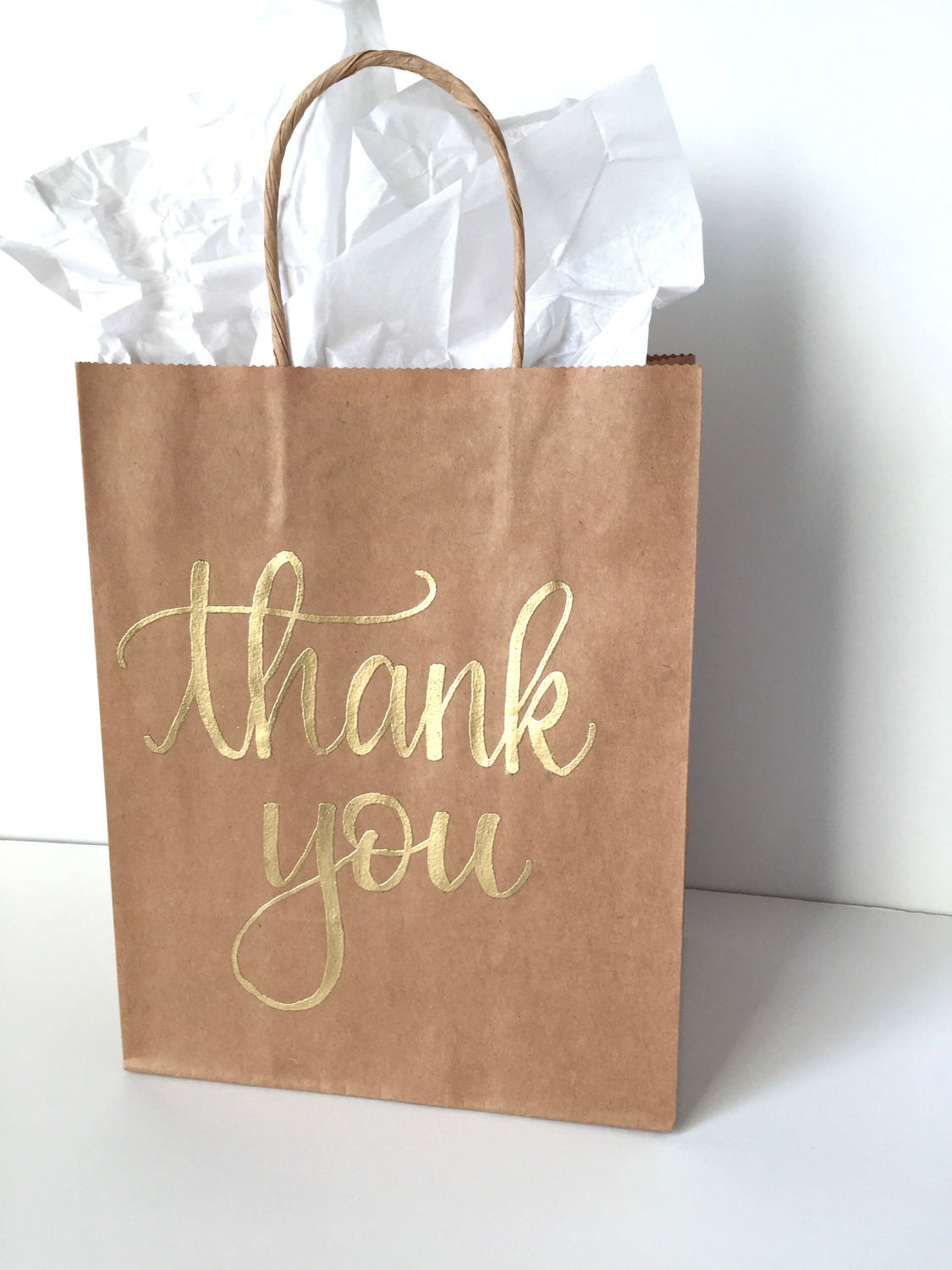 Thank You Gift Bag Ideas  Thank You Gift Bag Birthday Favor Bag Custom Gift Bag