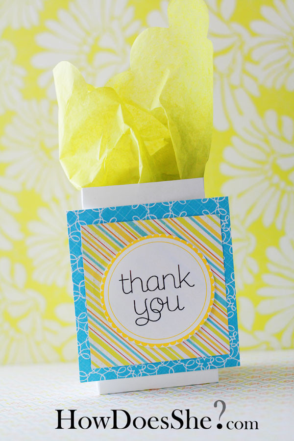 Thank You Gift Bag Ideas  Thank You Gift Ideas