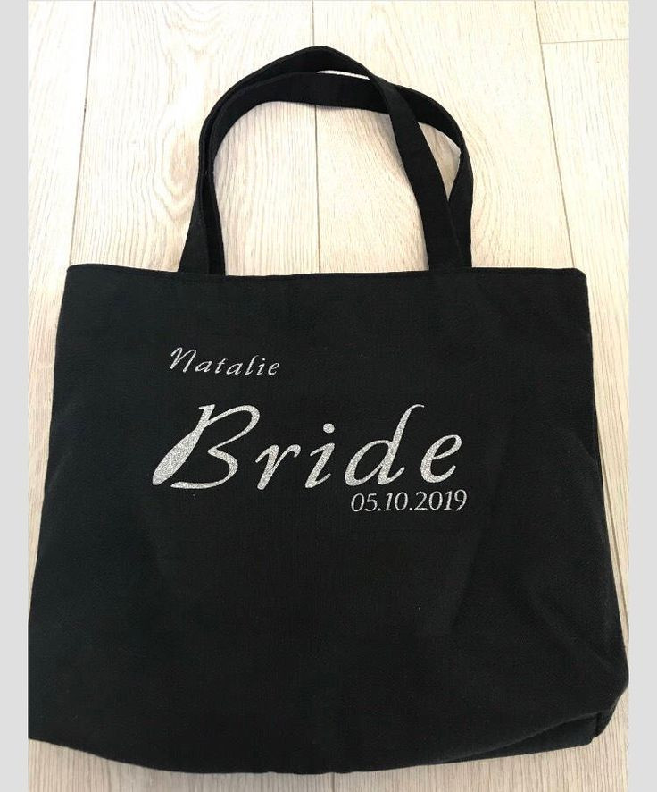 Thank You Gift Bag Ideas  Personalised Gifts Ideas Bride bag bridesmaid bag