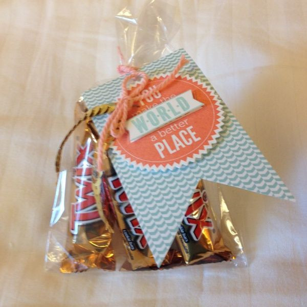 Thank You Gift Bag Ideas  I found these treat bags and thank you t ideas on