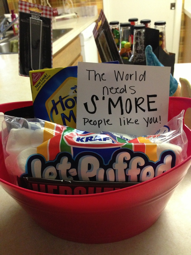 Thank You Gift Basket Ideas  A little thank you basket t ideas