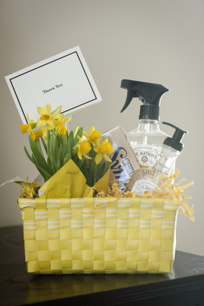Thank You Gift Basket Ideas  Wonderful Thank You t idea and to wel e spring