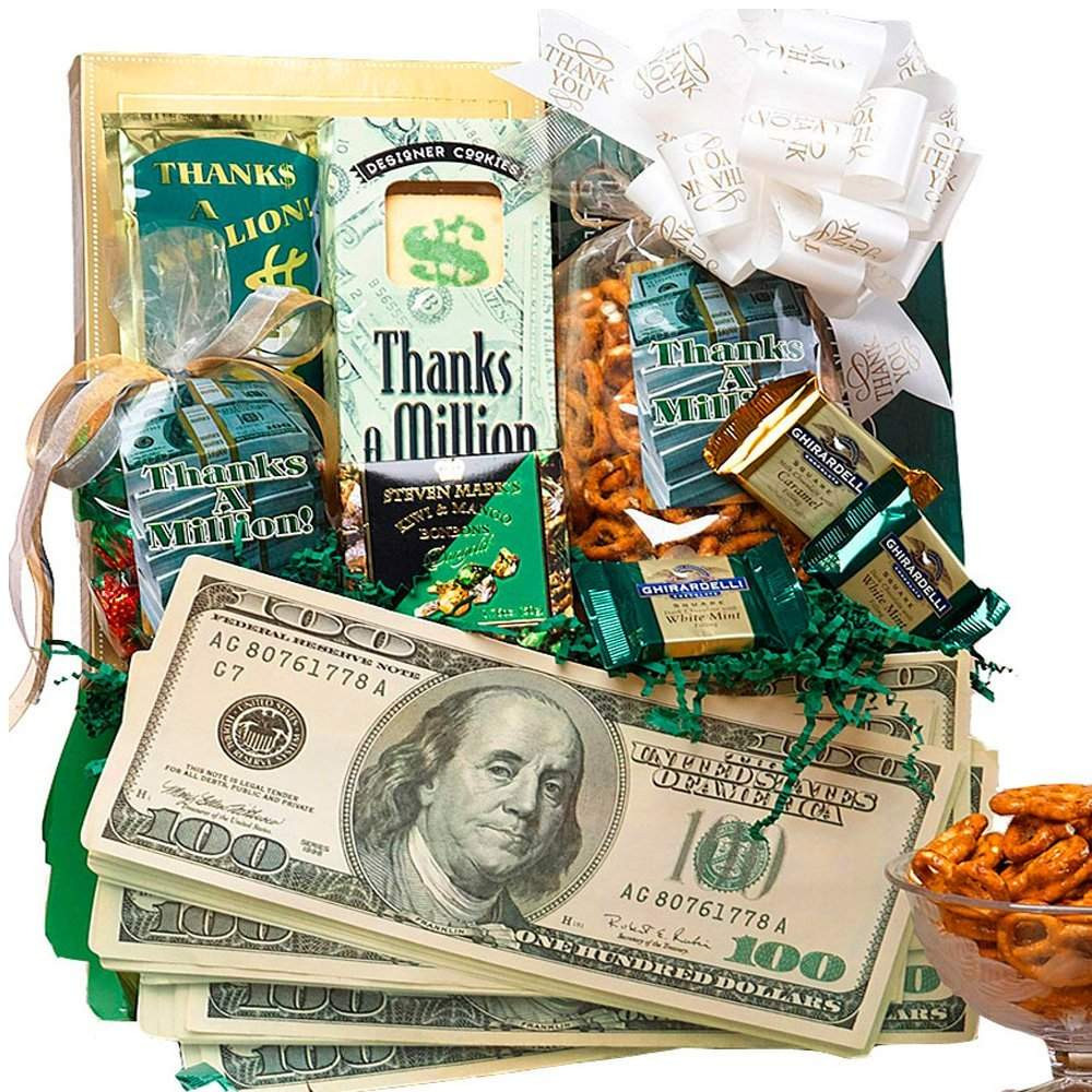 Thank You Gift Basket Ideas  Top 10 Best Thank You Gifts & Gift Ideas