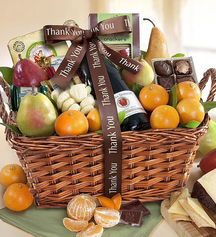 Thank You Gift Baskets Ideas  Thank You Gift Basket 1800baskets