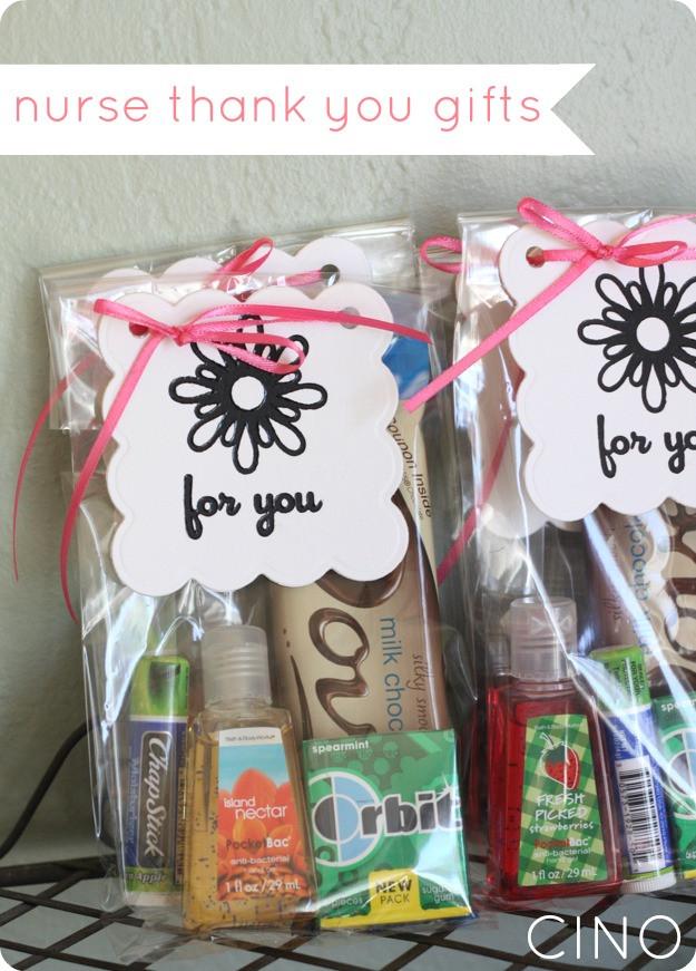 Thank You Gift Ideas  nurse thank you ts