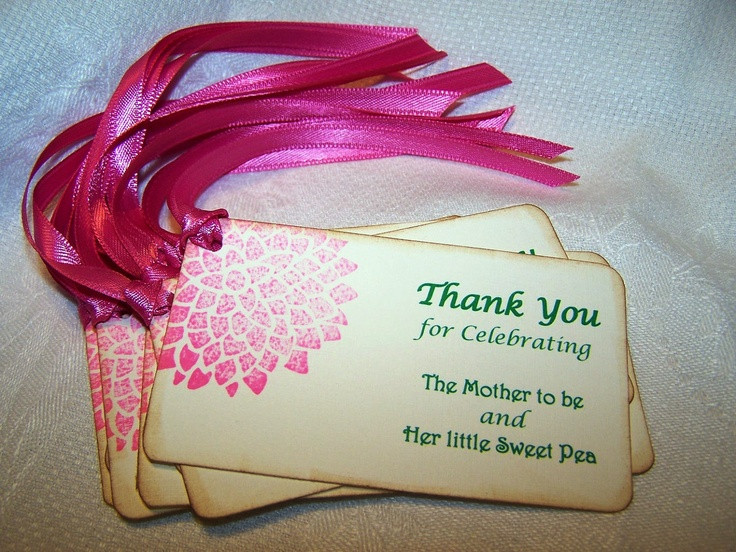 Thank You Gift Ideas For Baby Shower  Baby Shower Thank You Gifts Ideas