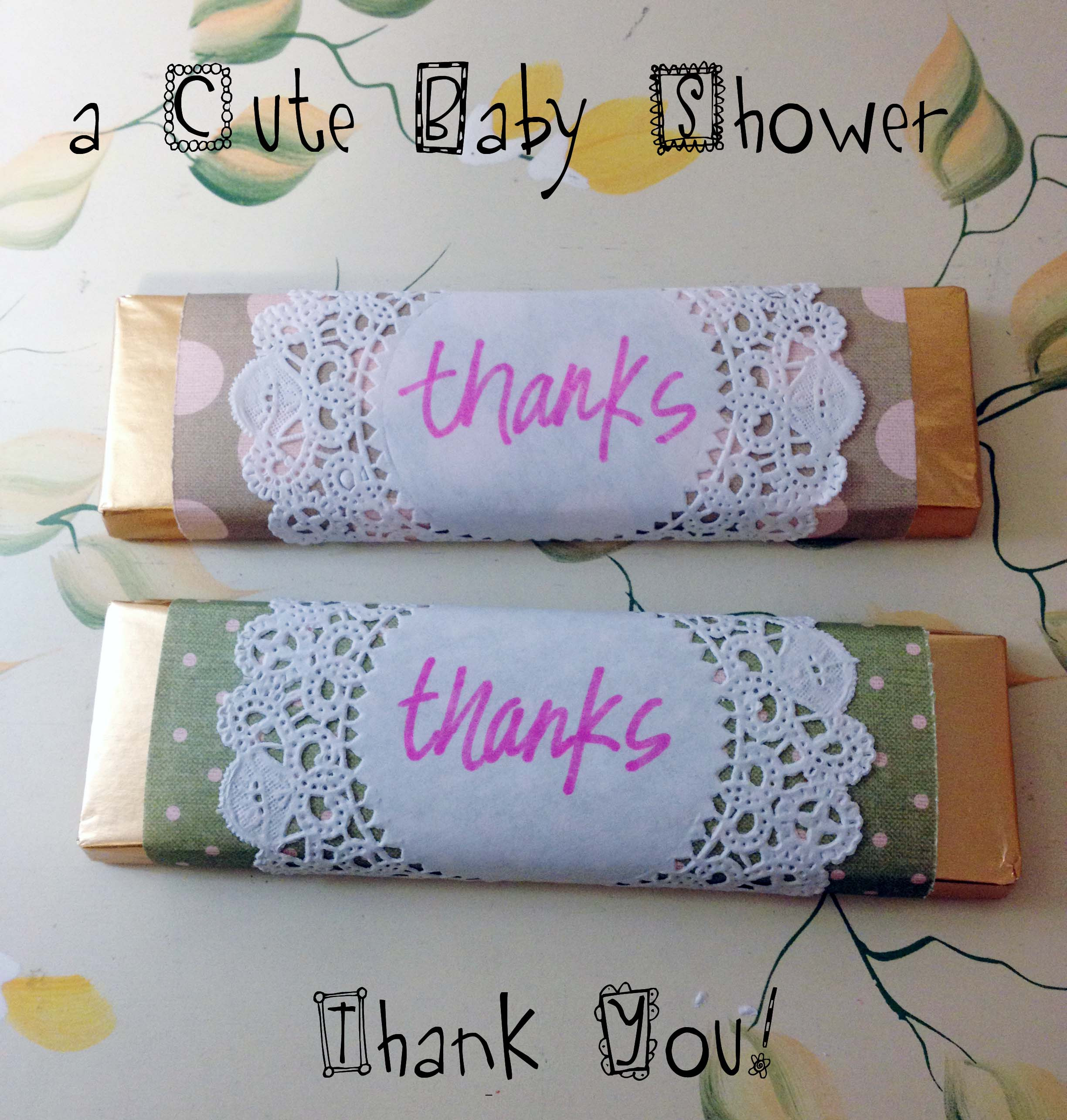 Thank You Gift Ideas For Baby Shower  Diy A Cute Baby Image