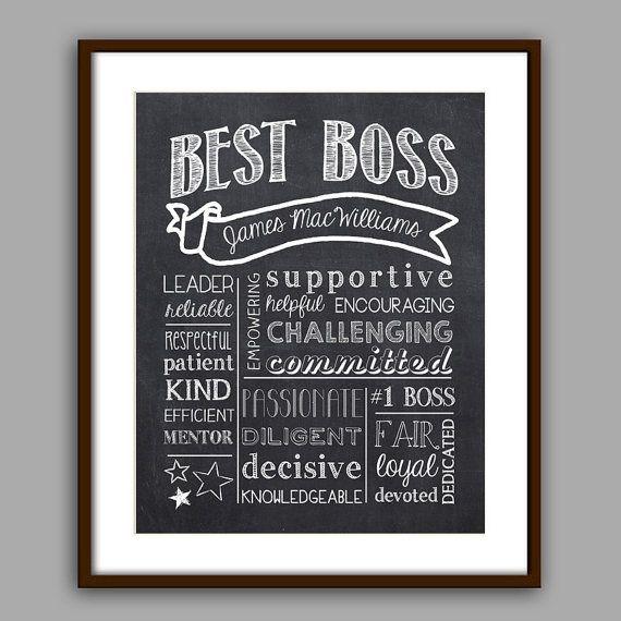 Thank You Gift Ideas For Boss  Best 10 Boss ts ideas on Pinterest