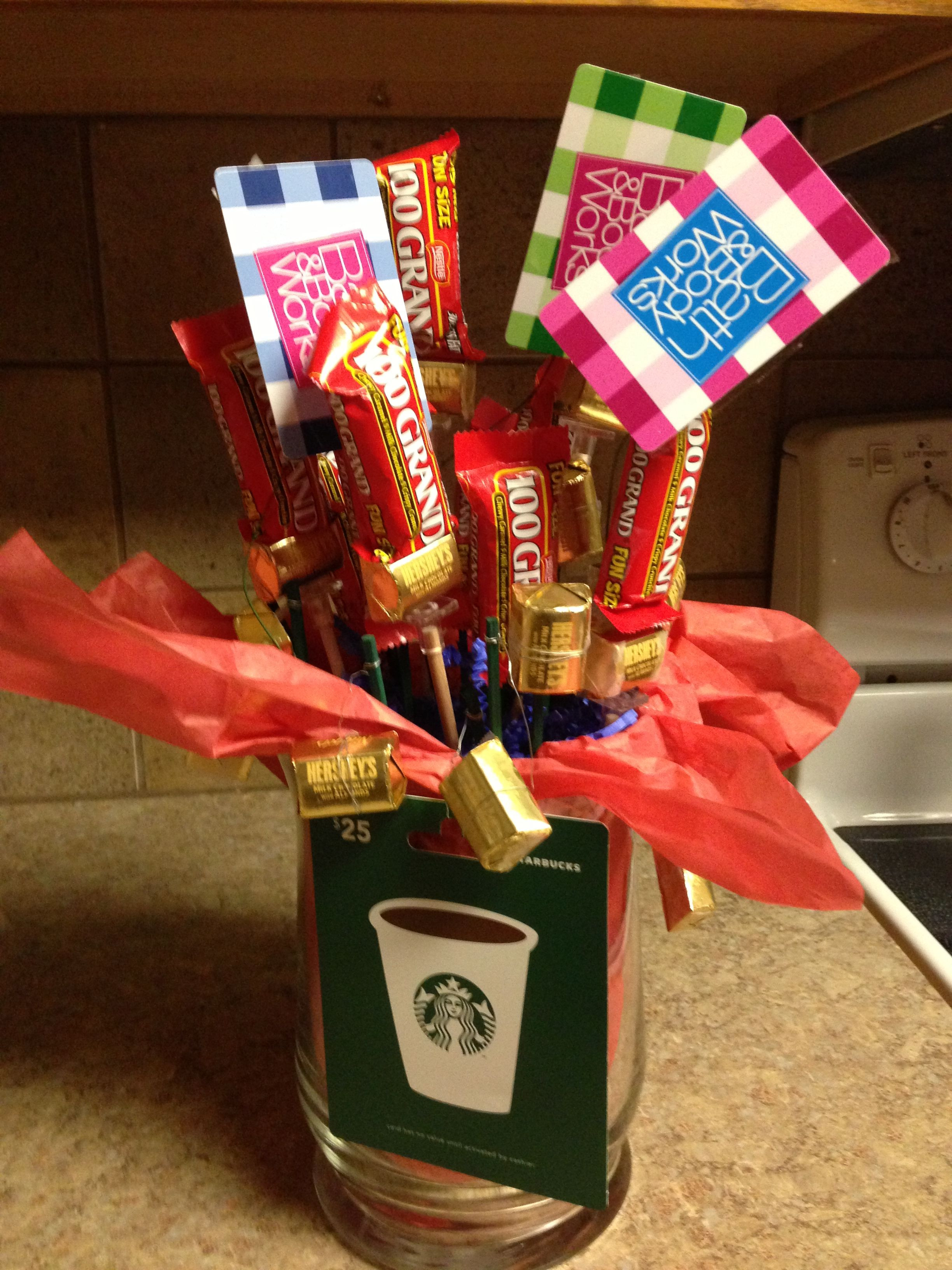Thank You Gift Ideas For Coworkers  Thanks a Million Candy Bouquet great thank you t for