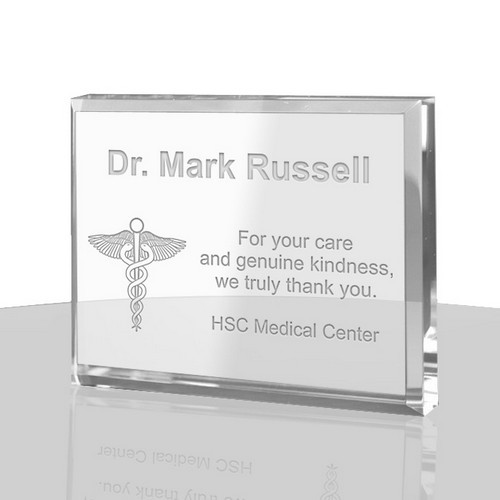 Thank You Gift Ideas For Doctors  Personalized Doctor Thank You Plaque