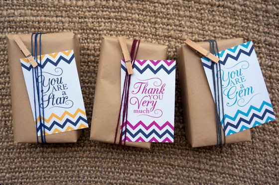 Thank You Gift Ideas For Friends  25 Thank You