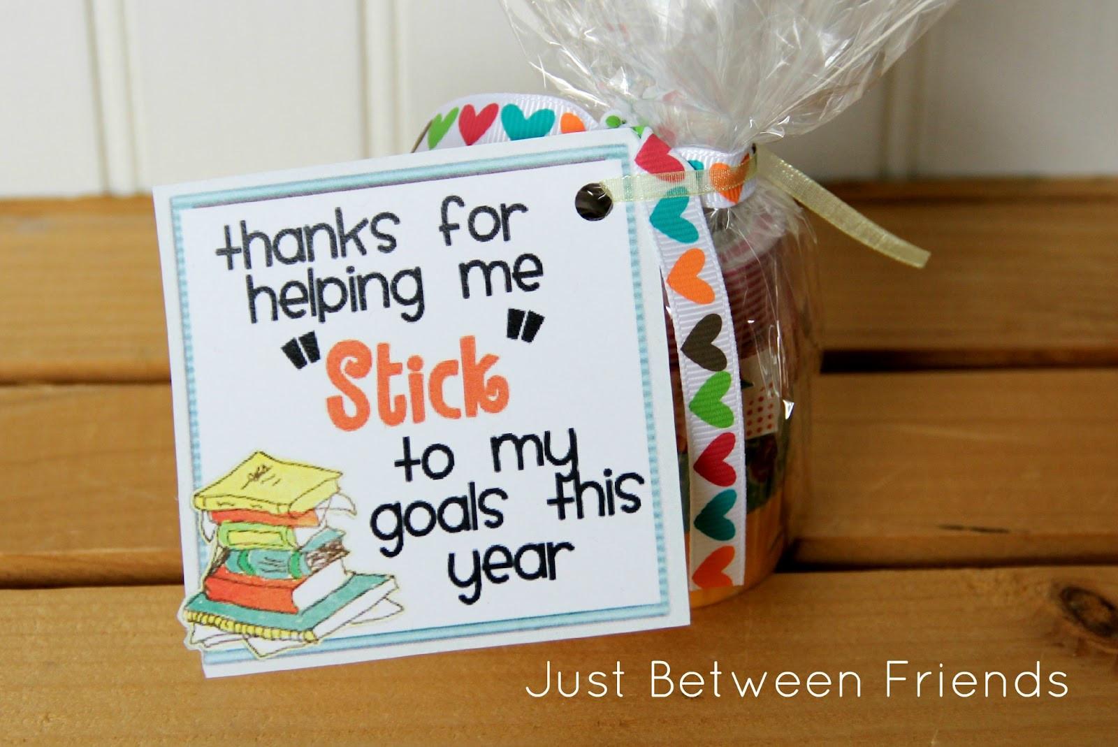 Thank You Gift Ideas For Friends  Teacher Appreciation Gift Idea Just Between Friends
