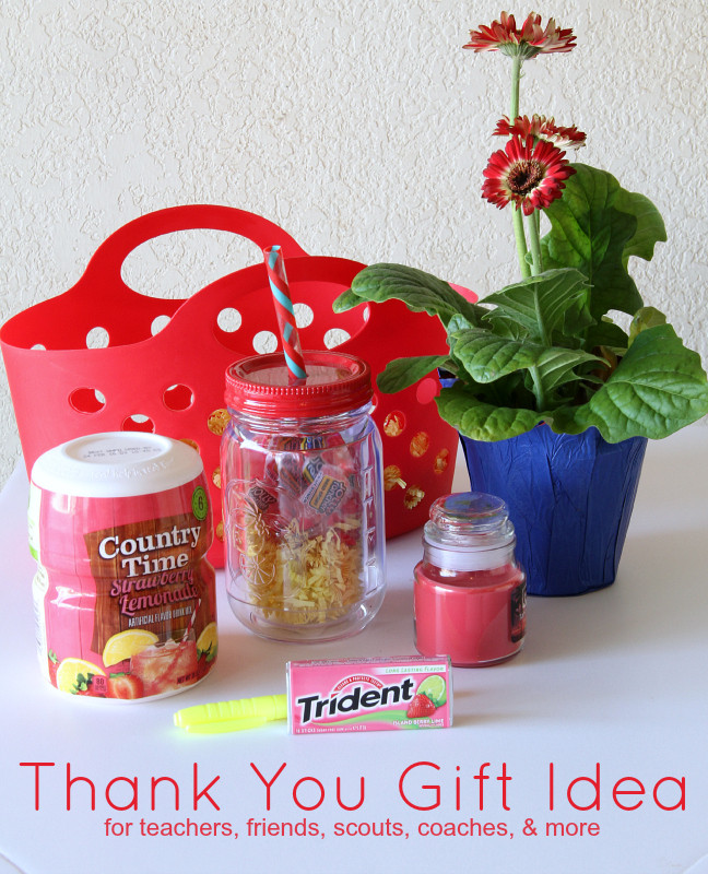 Thank You Gift Ideas For Friends  Thank You Gift Idea Around My Family Table