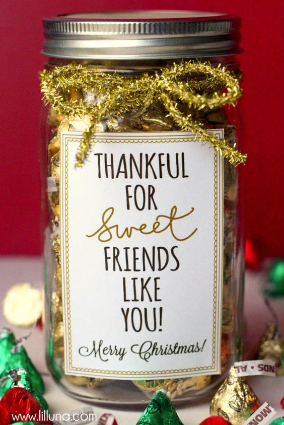 Thank You Gift Ideas For Friends  25 Neighbor Gift Ideas with Free Printable Tags