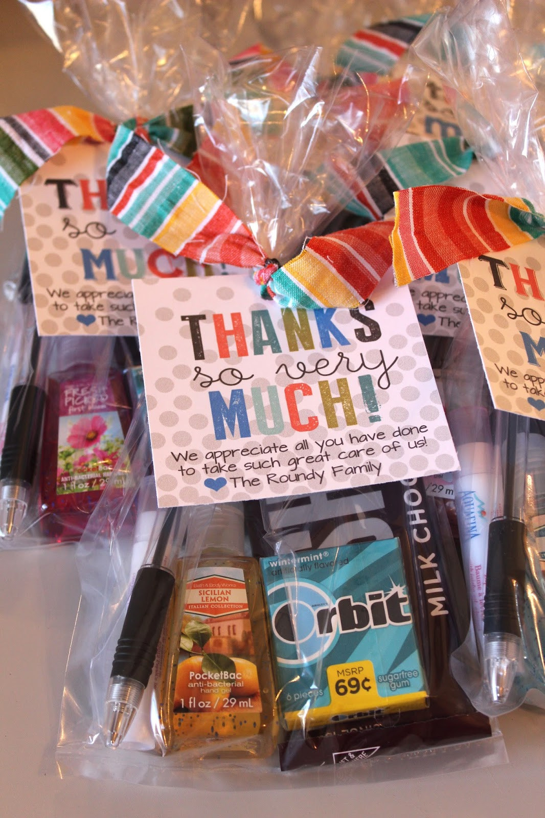 Best ideas about Thank You Gift Ideas For Nurses . Save or Pin Kinzie s Kreations Hospital Thank You Cards Now.