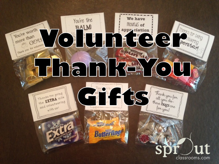 Thank You Gift Ideas For Parents  Volunteer Thank You Gifts Sprout Classrooms
