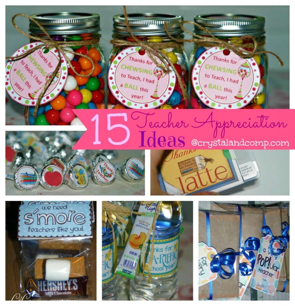 Thank You Gift Ideas For Teachers  Teacher Appreciation Gift Ideas Bubble Gum