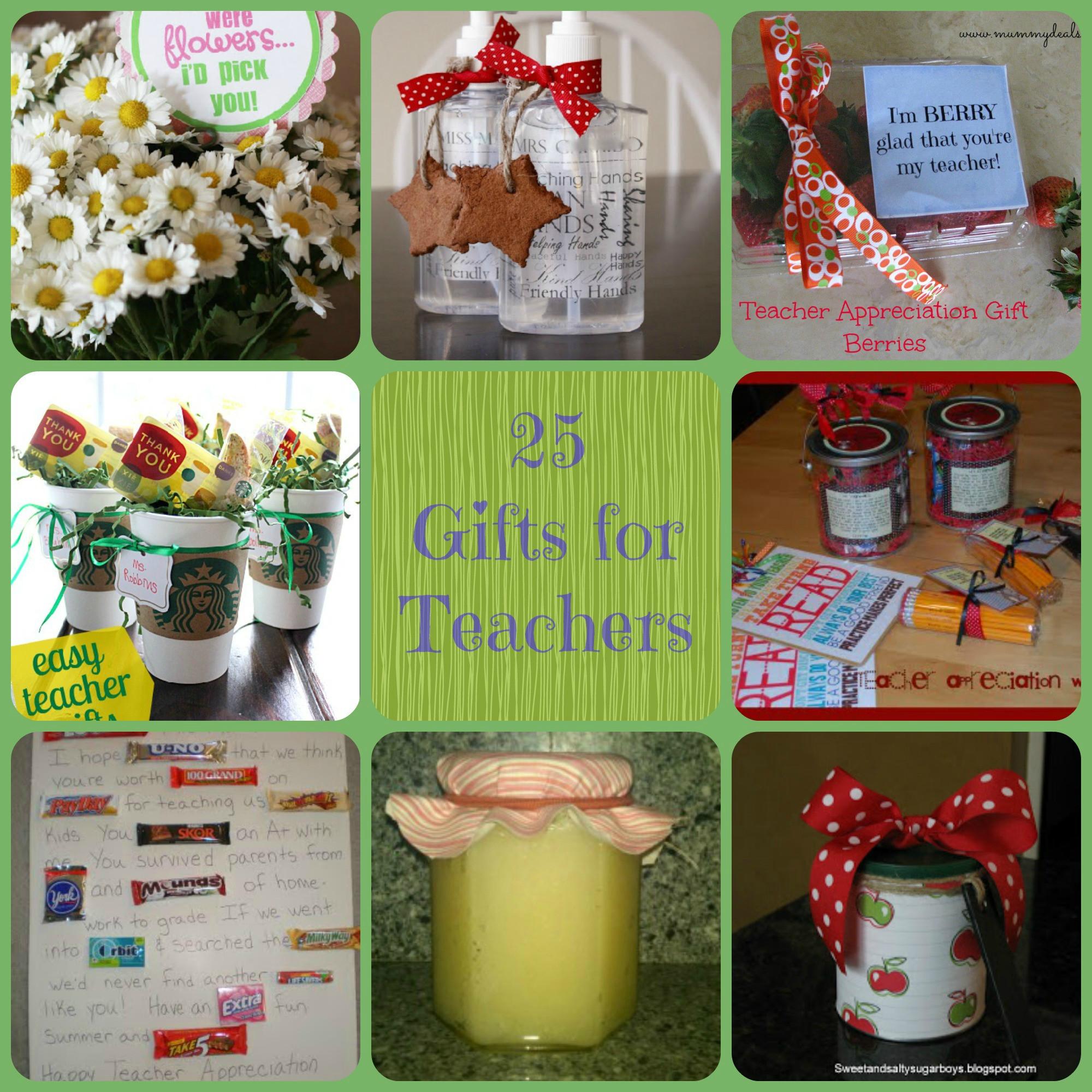 Thank You Gift Ideas For Teachers  25 Teacher Gift Ideas Farmer s Wife Rambles
