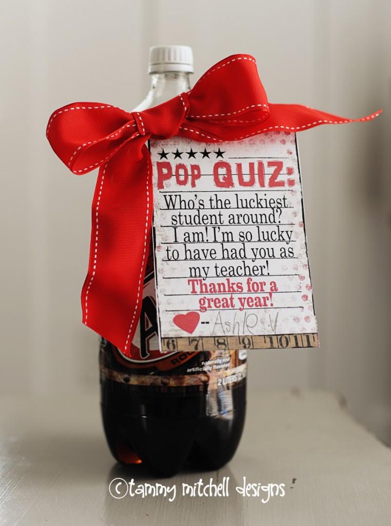 Thank You Gift Ideas For Teachers  35 DIY Teacher Appreciation Gifts Big DIY Ideas