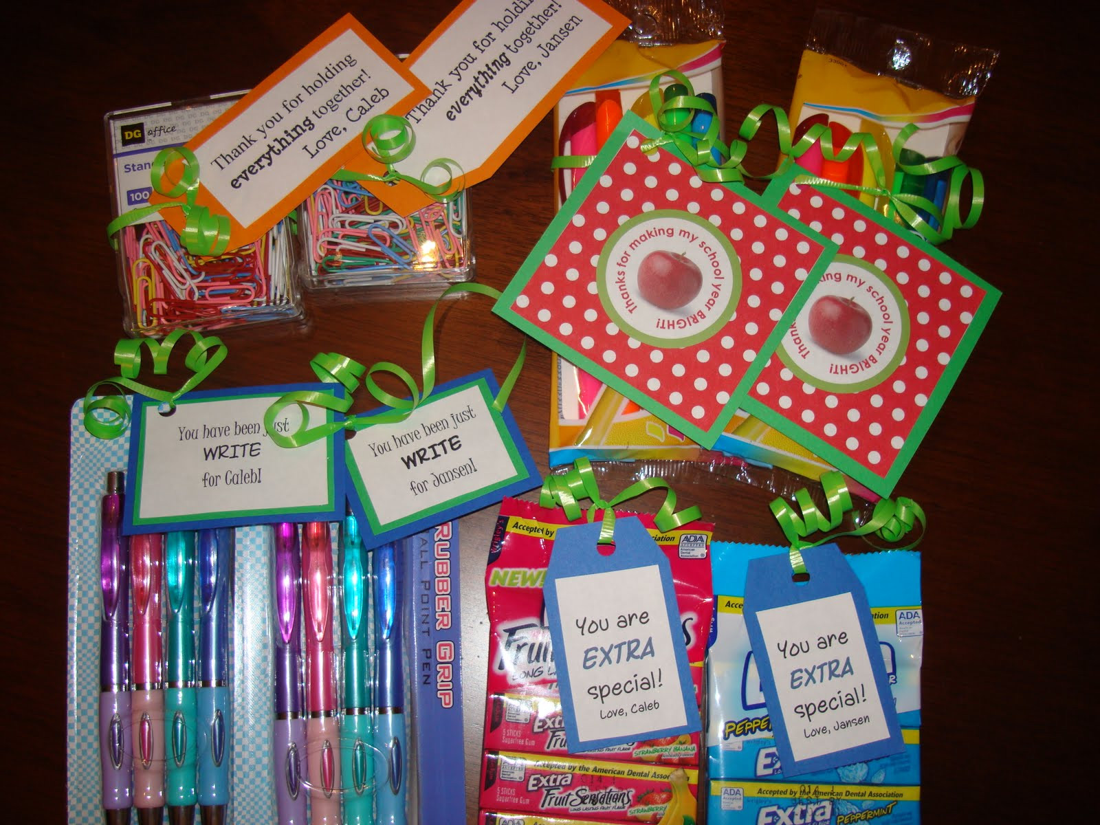 Thank You Gift Ideas For Teachers  I saw that going differently in my mind Teacher