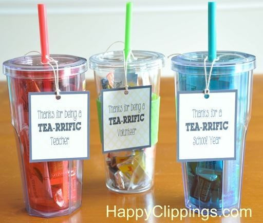 Thank You Gift Ideas For Teachers  Thank You Gift Ideas for Volunteers