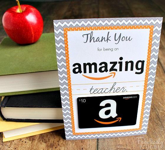Thank You Gift Ideas For Teachers  Teacher Appreciation Gift Ideas