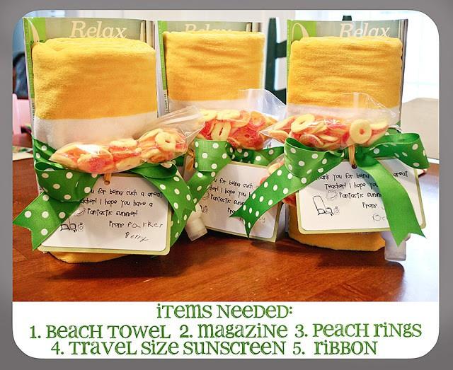 Thank You Gift Ideas For Teachers  35 DIY Teacher Appreciation Gift Ideas