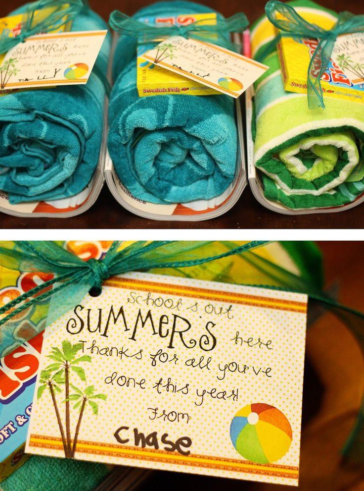 Thank You Gift Ideas For Teachers  End of the Year Teacher Gift Ideas