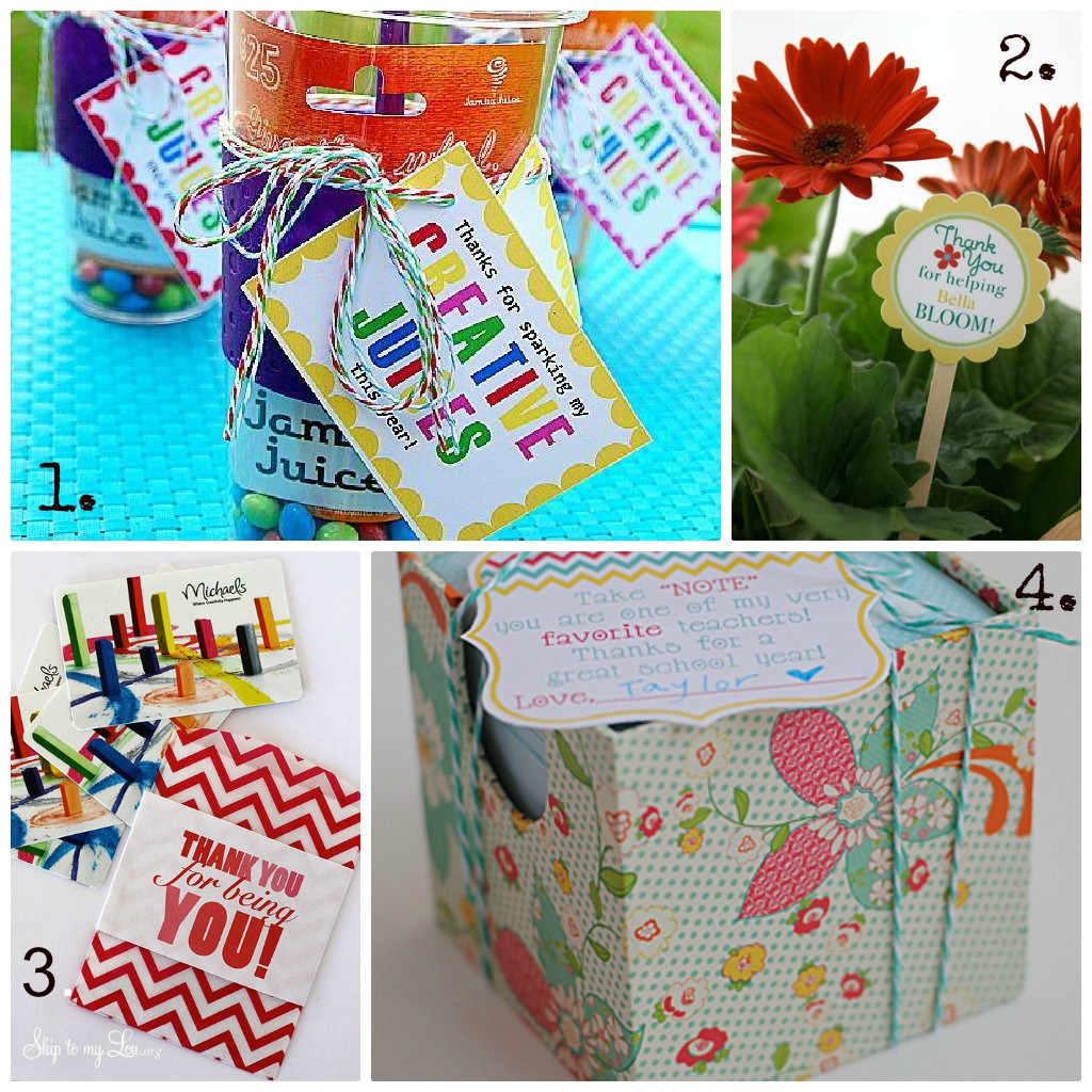 Thank You Gift Ideas For Teachers  50 t ideas to thank a teacher