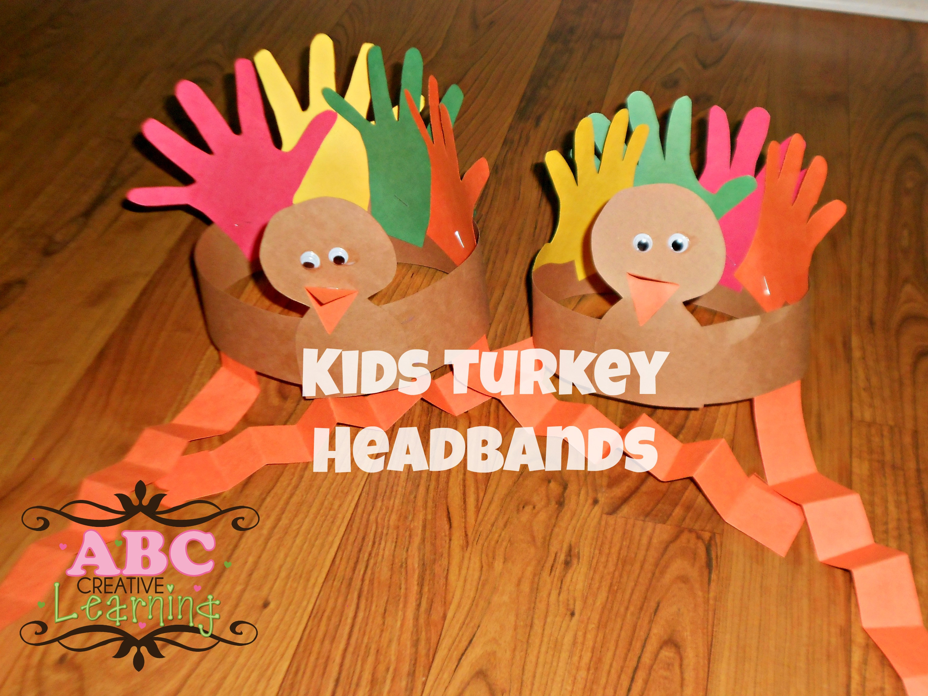 Thanksgiving Arts And Crafts For Toddlers  Turkey Headband Craft for Kids