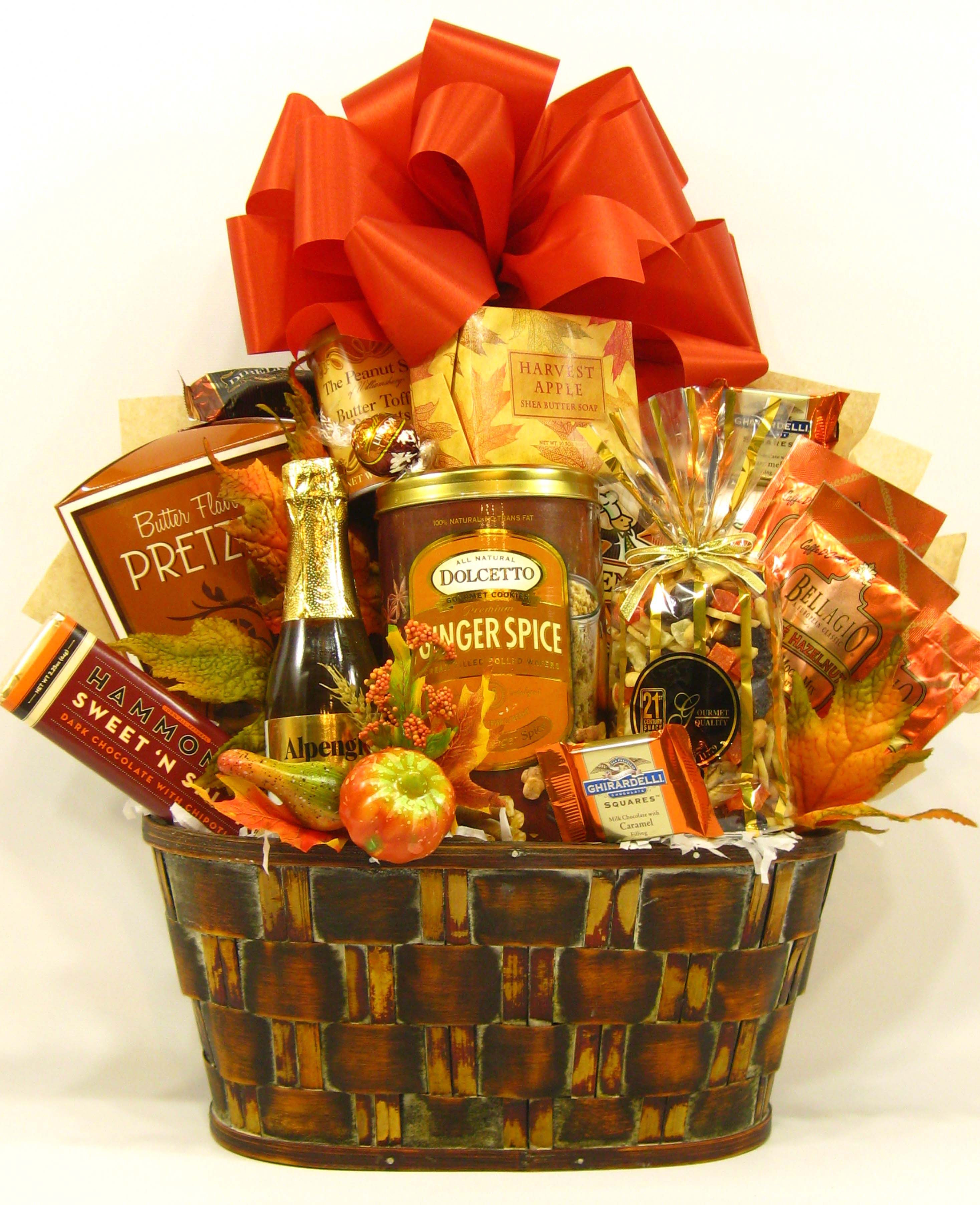 Thanksgiving Gift Basket Ideas  Anything In A Blog