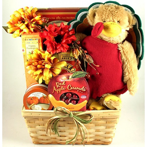 Thanksgiving Gift Basket Ideas  Gobble Gobble Thanksgiving Gift Basket