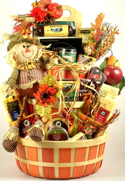 Thanksgiving Gift Basket Ideas  52 best Best Thanksgiving Fall Gift Baskets images on