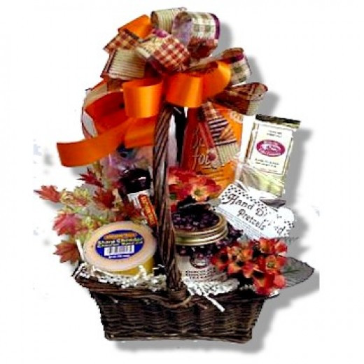 Thanksgiving Gift Basket Ideas  Thanksgiving Gift Baskets