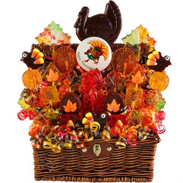 Thanksgiving Gift Basket Ideas  Thanksgiving Holiday Turkey Gift Basket at Gift Baskets ETC