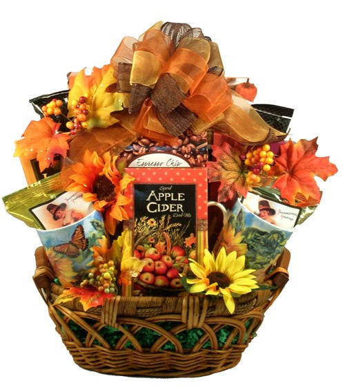 Thanksgiving Gift Baskets Ideas  The Colors Fall Thanksgiving and Fall Gift Basket Medium