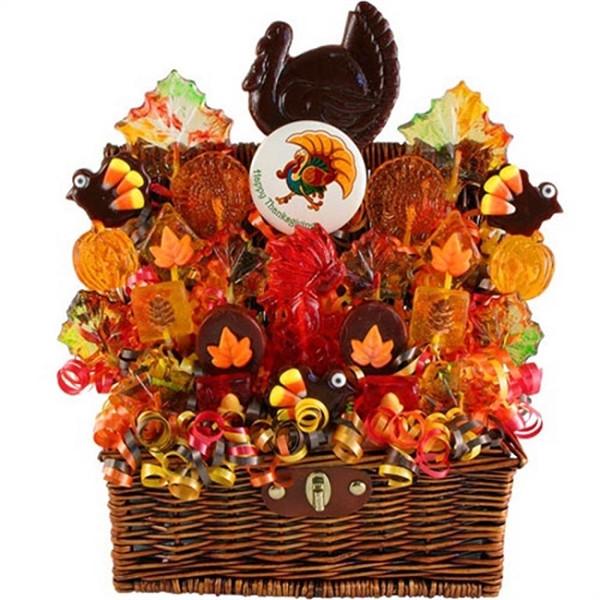 Thanksgiving Gift Baskets Ideas  Thanksgiving Holiday Turkey Gift Basket at Gift Baskets ETC