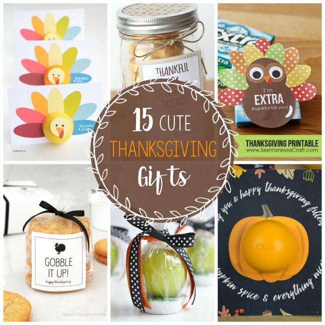 Thanksgiving Gift Ideas  15 Cute Thanksgiving Gift Ideas – Fun Squared