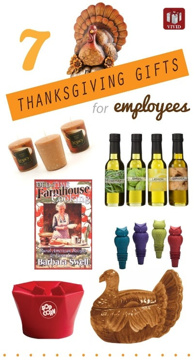 Thanksgiving Gift Ideas For Employees  7 Best Thanksgiving Gifts for Employees Vivid s Gift Ideas