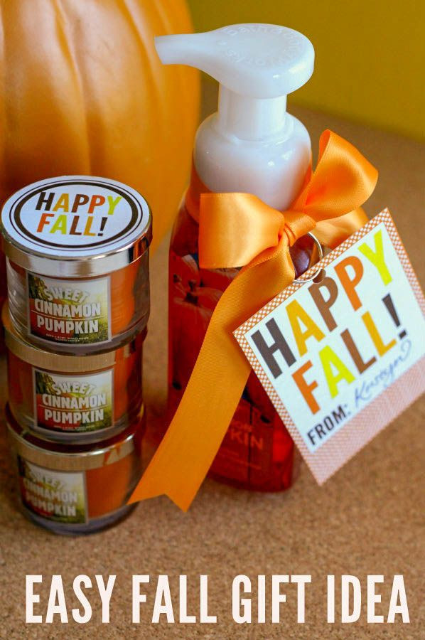 Thanksgiving Gift Ideas For Employees  10 Fall Gifts and Treats Fall Pinterest