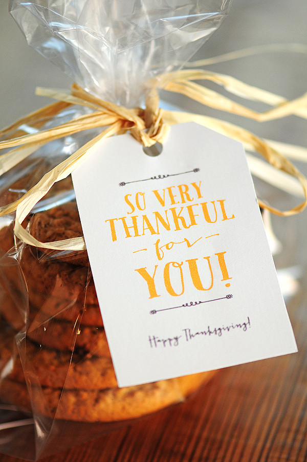 Thanksgiving Gift Ideas For Friends  Free Thanksgiving Gift Tags & Note Card Printables