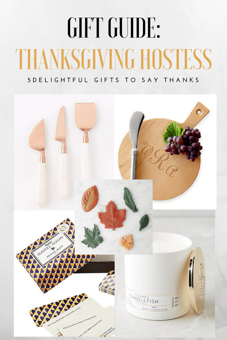 Thanksgiving Gift Ideas For Friends  Say Thanks with the Perfect Thanksgiving Hostess Gifts Guide